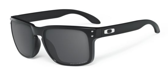 Holbrook Polished Black/Grey Polarized