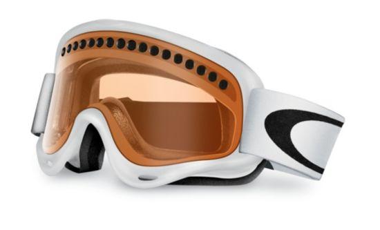 O Frame Matte White/Persimmon Skibriller