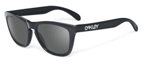 Frogskins Gray - Polished Black