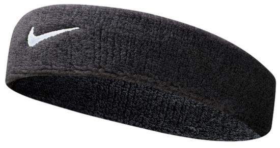 Nike Swoosh Headband BLACK/WHITE