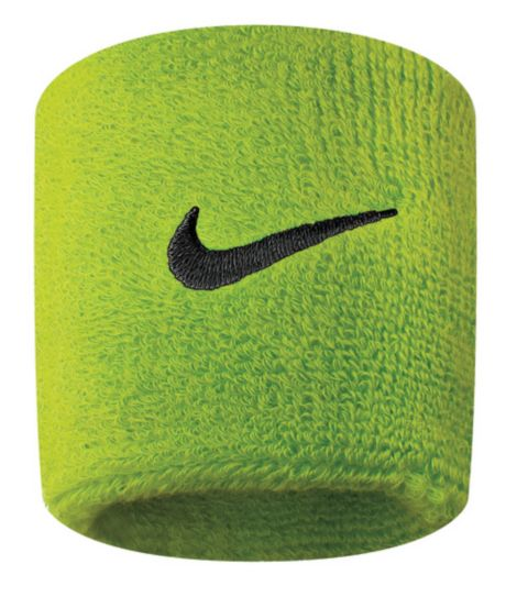 Nike Swoosh Svettebånd ATOMIC GREEN/BL
