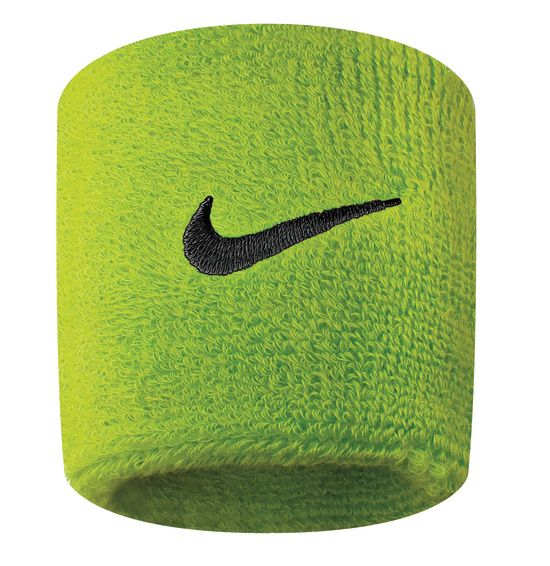 Nike Swoosh Wristbands ATOMIC GREEN/BL