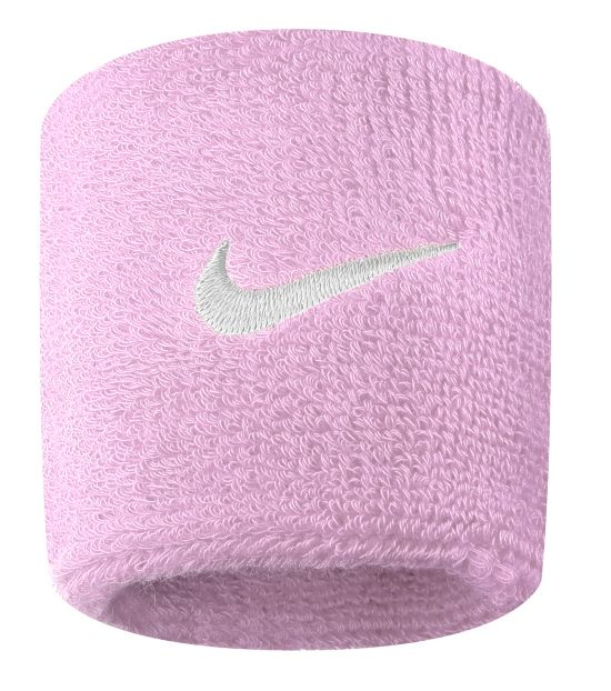 Nike Swoosh Wristbands PERFECT PINK/WH