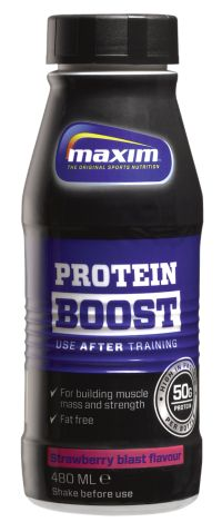 Protein Boost 480Ml Strawberry