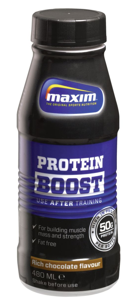 Protein Boost 480Ml Chocolate
