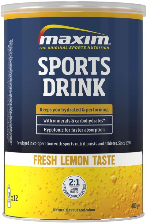 Sports Drink 480G Lemon Energidrikk