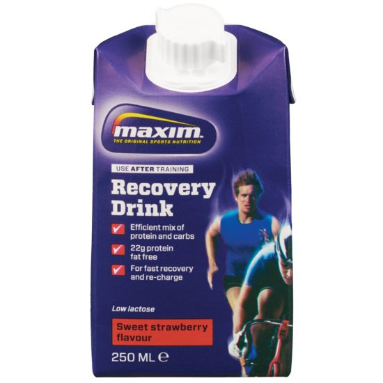 Recovery Drink 250Ml Strawberry