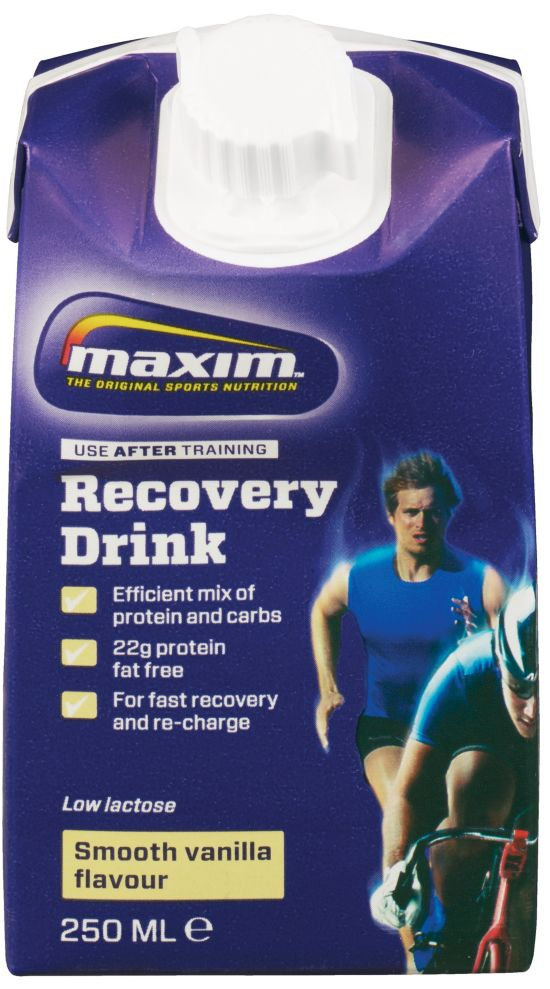 Recovery Drink 250Ml Vanilla