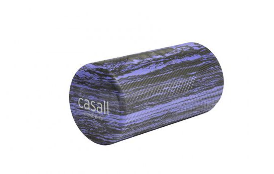 Foam Roll Skumrulle Small  BLACK/LILAC