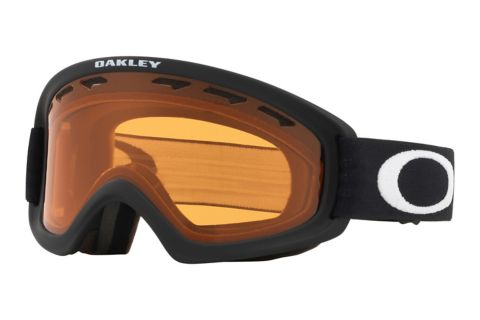 02 XS Matte Black/Persimmon Alpinbrille Junior