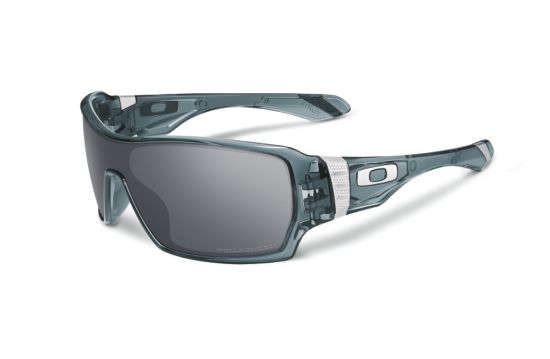 Offshoot Crystal Black/Black Iridium Polarized