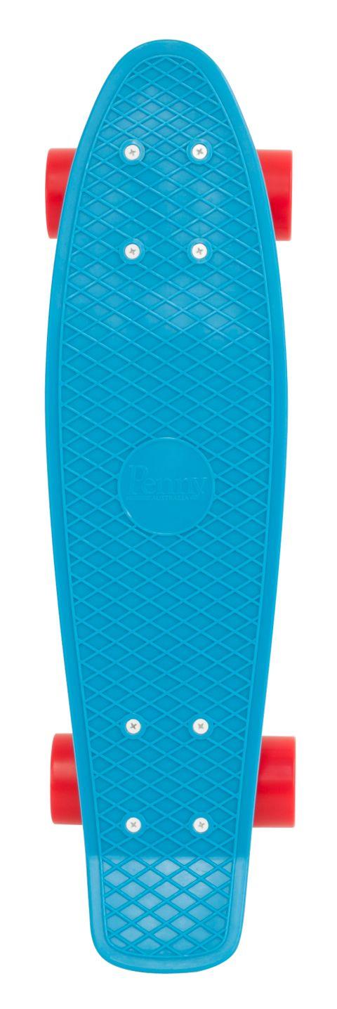 """Complete 22"""" Skateboard BLUE"""