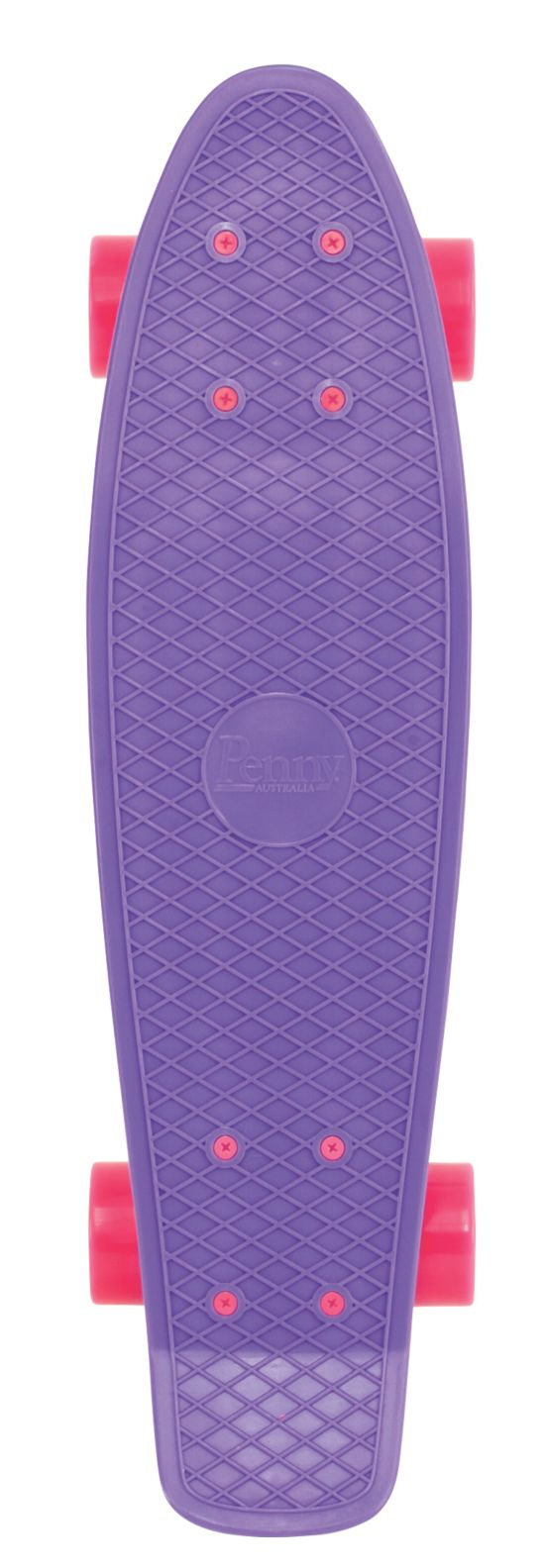 "Complete 22"" Skateboard PURPLE"