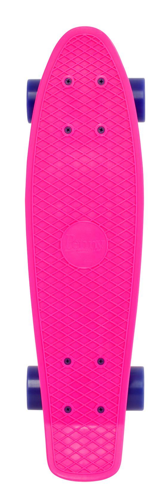 """Complete 22"""" Skateboard PINK"""