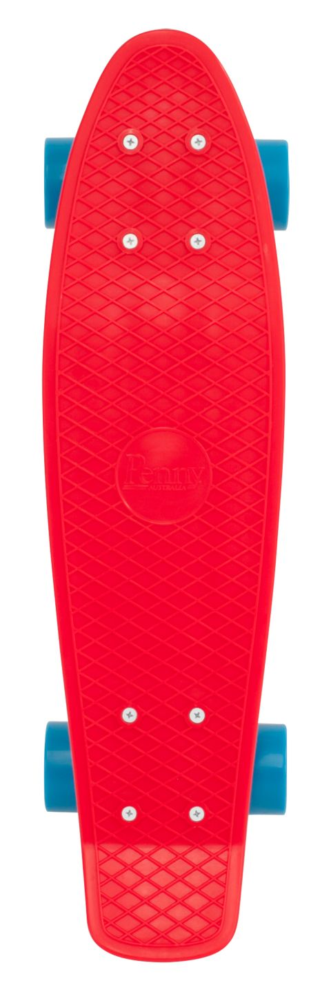 "Complete 22"" Skateboard RED"