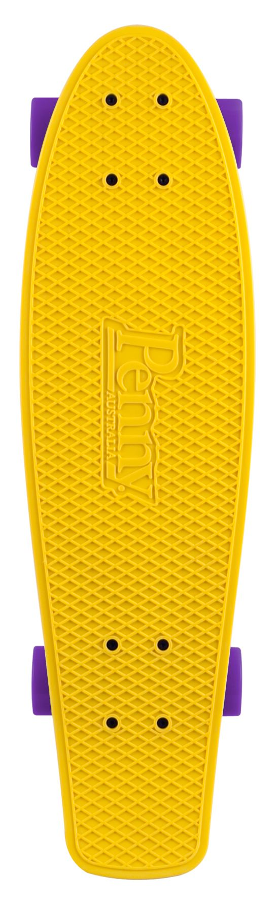 "Nickel 27"" Skateboard YELLOW/CYAN/PUR"
