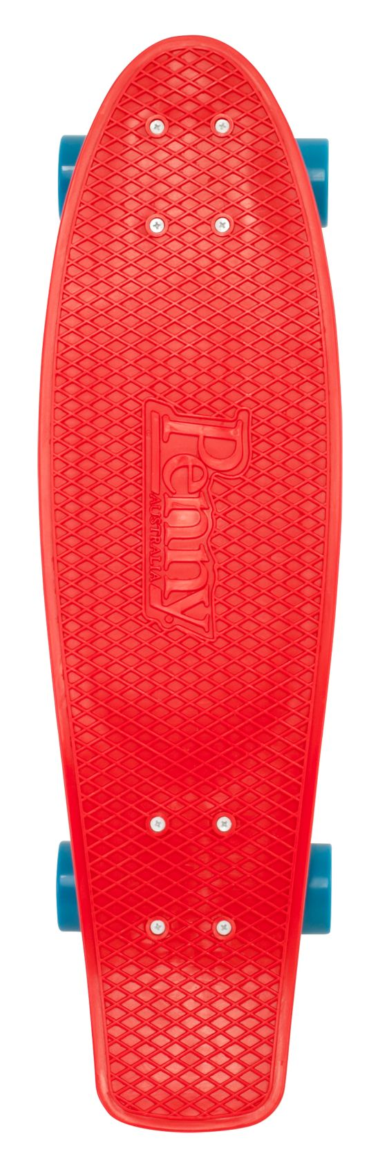 "Nickel 27"" Skateboard RED"