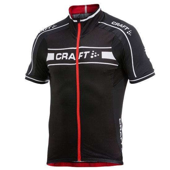 Jersey Sykkeltrøye Herre BLACK