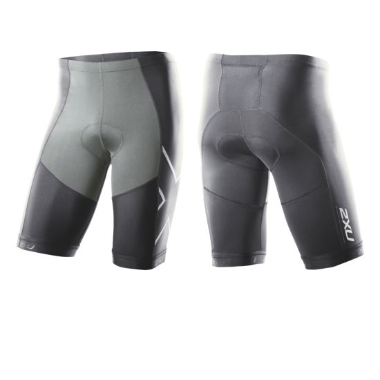 2XU G:2 Compression Tri Shorts Herre CHARCOAL/NEUTRR