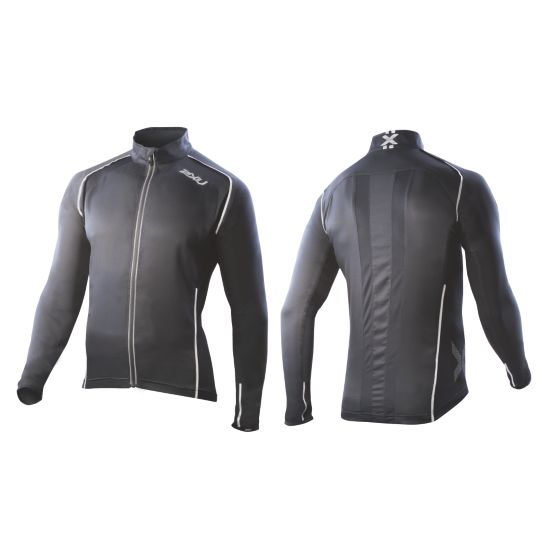 Vapor Mesh 360 Run Jacket Herre BLACK/BLACK