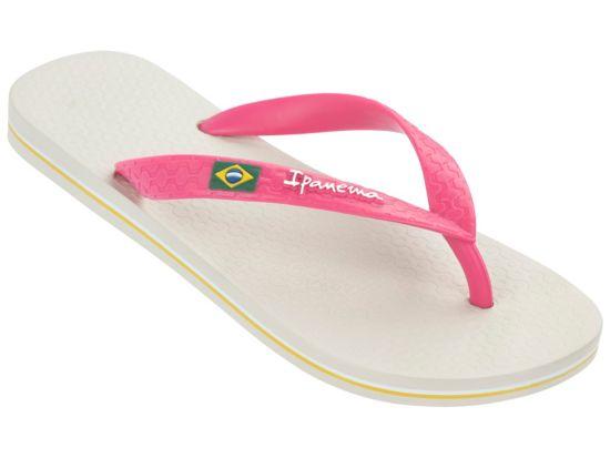 Classica Brasil Slippers Dame BEIGE-PINK