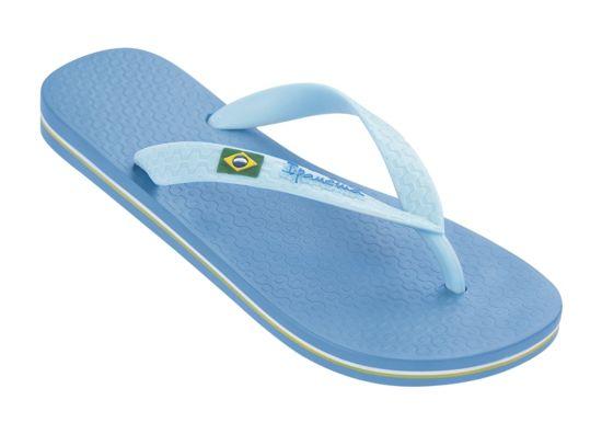 Classica Brasil Slippers Dame BLUE-BLUE