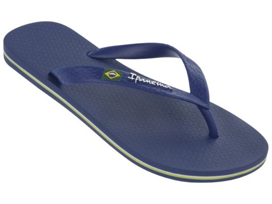 Classica Brasil Flip-Flops Herre BLUE