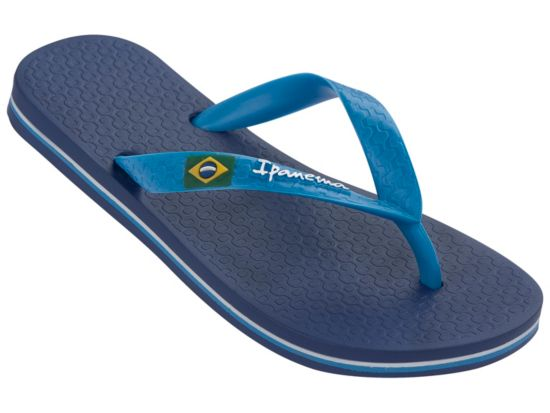 Classica Brasil Flip-Flops Herre BLUE/BLUE
