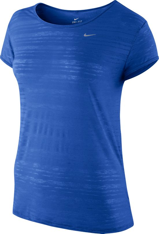 DF Touch Breeze Stripe T-skjorte Dame