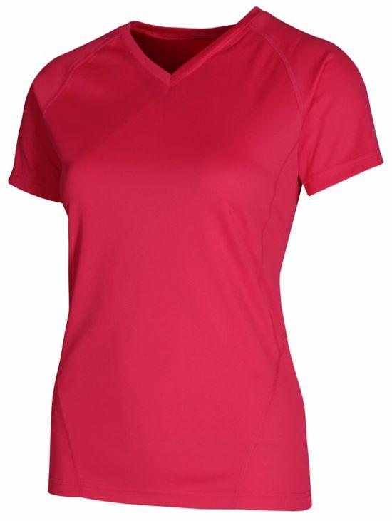 Natalia Trenings T-Skjorte Dame RED/RED