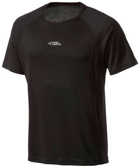 Martin II teknisk t-skjorte herre BLACK
