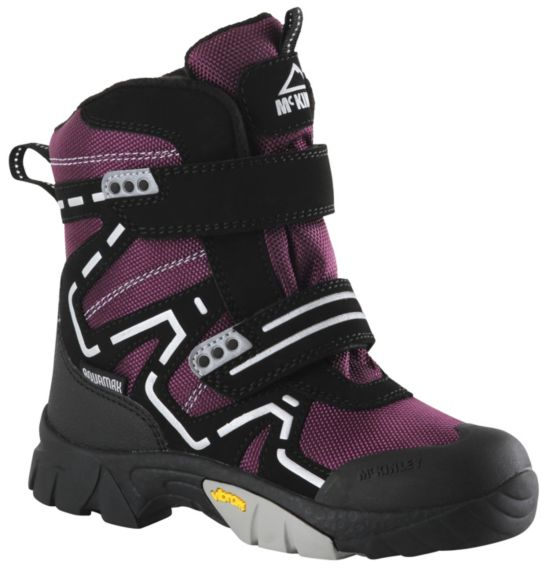 Snowstar II AQX Vintersko Barn PURPLE /BLACK