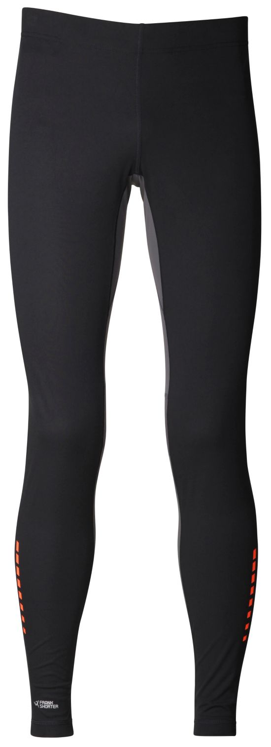 Ruben Long Tight Windprotection BLK/BLK/ORANGE