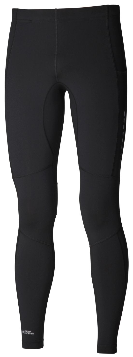 Randall Long Tight Thermo Brushed Herre BLACK/BLACK