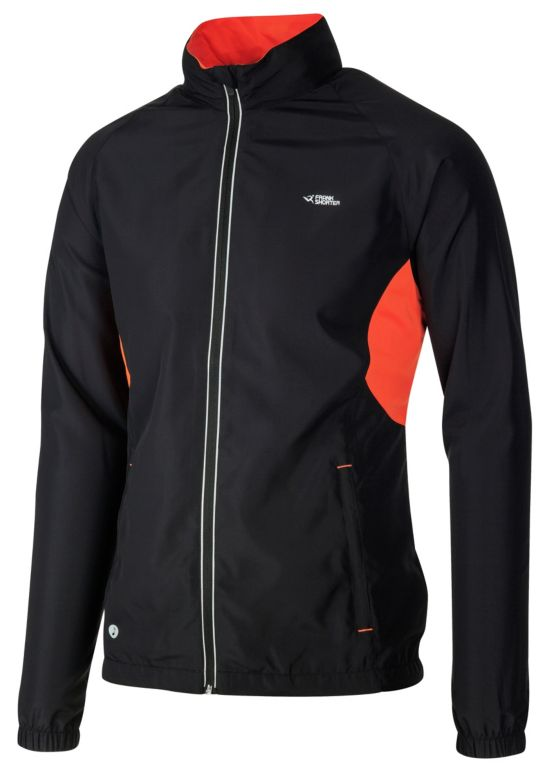 Magnus Jakke UniSex BLACK/ORANGE