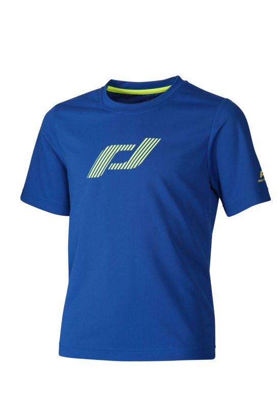 Devin Jrs T-Shirt S/Sl Logo BLUE DARK