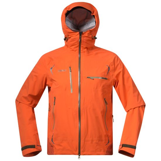 Storen Skalljakke Herre KOI ORANGE/BURN