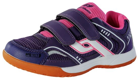 Courtplayer Treningssko Barn PURPLE/PINK