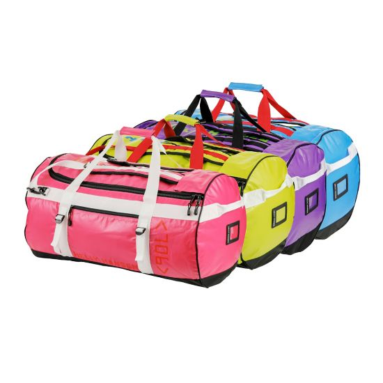 Multicolor Duffel Bag 90L