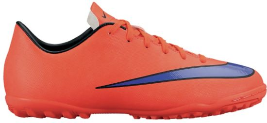 Mercurial Victory TF Fotballsko Grus Jr BRIGHT CRIMSON/