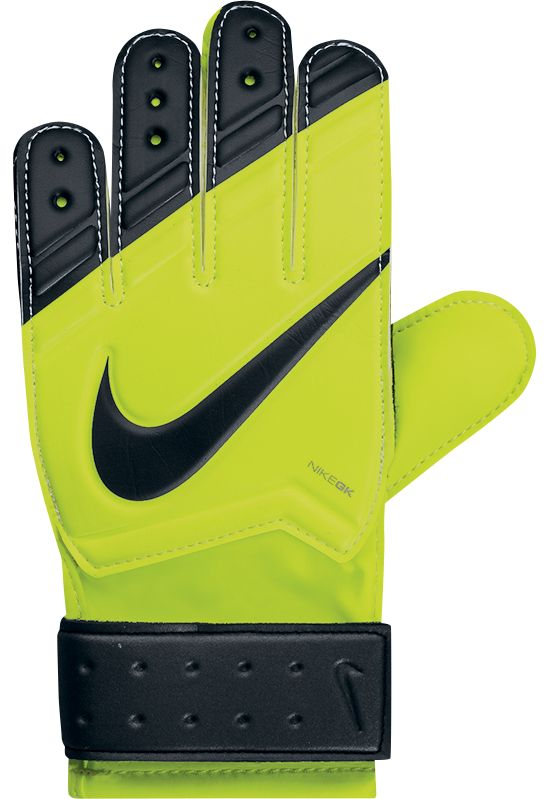 GK Match Keeperhansker Junior 710-VOLT/BLACK/