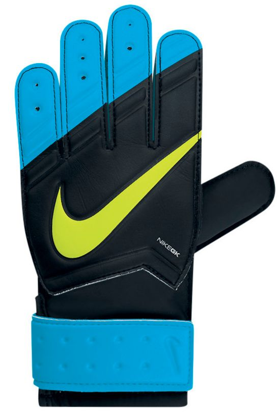 GK Match Keeperhansker Junior 047-BLACK/BLUE