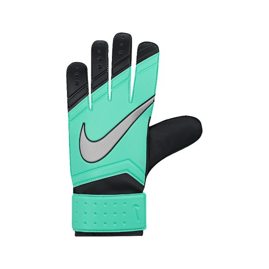 GK Match Keeperhansker Junior 387-GREEN GLOW/