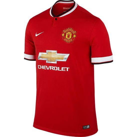 Manchester United Offisiell Drakt 14/15 Voksen 624-DIABLO RED/