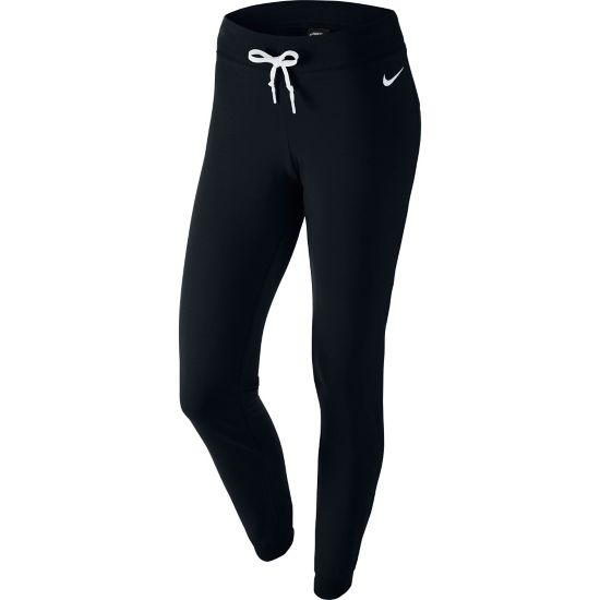 Jersey Pant-Cuffed Fritidsbukse Dame 010-BLACK/WHITE