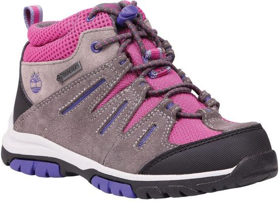 Zip Trail Mid GTX Fritidssko Barn 20-30 GREY