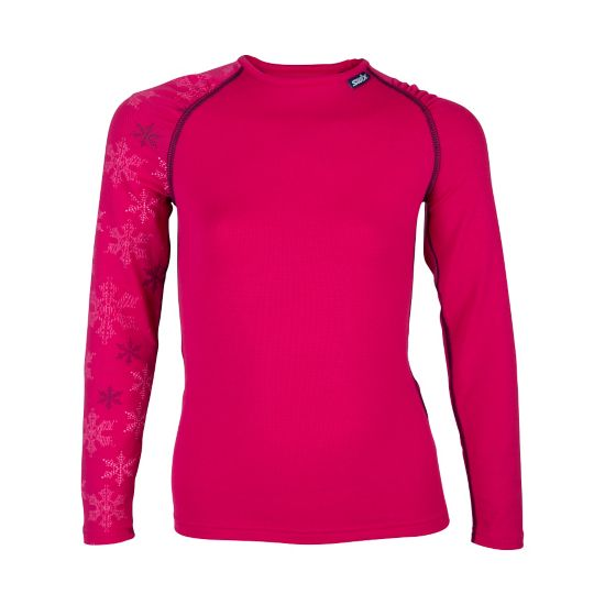 Flow Superundertøy Rund Hals Junior BRIGHT FUCHSIA