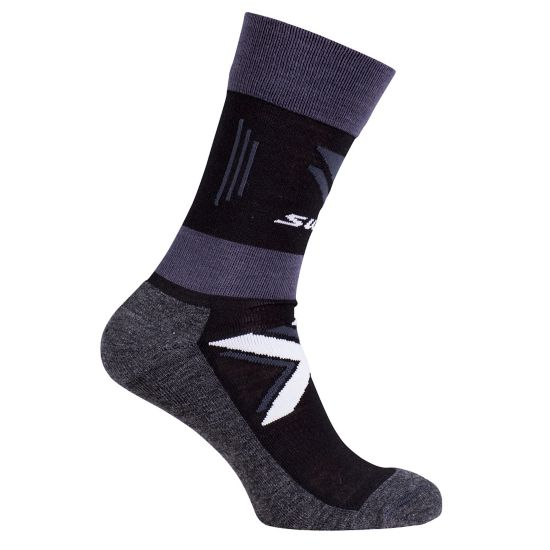 Cross country warm sock BLACK