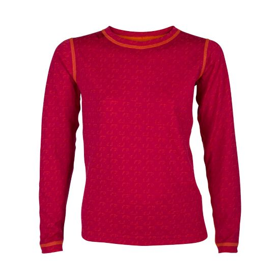 50Fifty Ulltrøye Rund Hals Jr. PERSIAN RED/RED