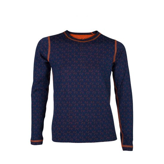 50Fifty Ulltrøye Rund Hals Barn NEW NAVY/RED OR